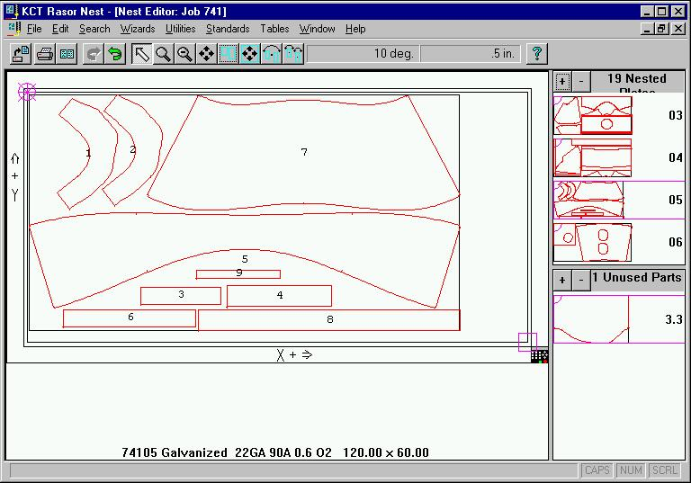 Komatsu CTD : Nesting Software for Rasor and Twister Plasma Cutting Systems